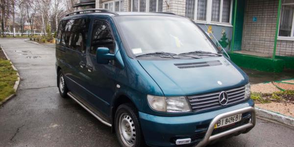 Автомобіль будинку дитини завдяки нардепу Жеваго оснащено газовою установкою