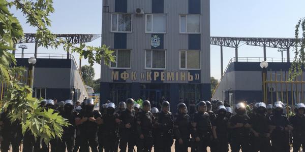 У Кременчуці та Глобиному правоохоронці провели тактико-спеціальні навчання