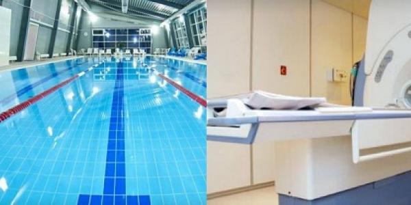 У Кременчуцькому госпіталі інвалідів для учасників АТО розпочато безкоштовні заняття в басейні та обстеження МРТ