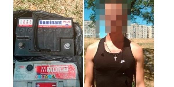Затриманий обкрадав машини в нагірній частині Кременчука та продавав їх на місцевому ринку.