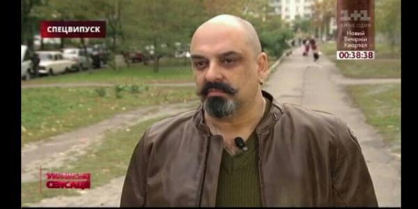 Про кременчугского Воина добра рассказали на центральном телеканале