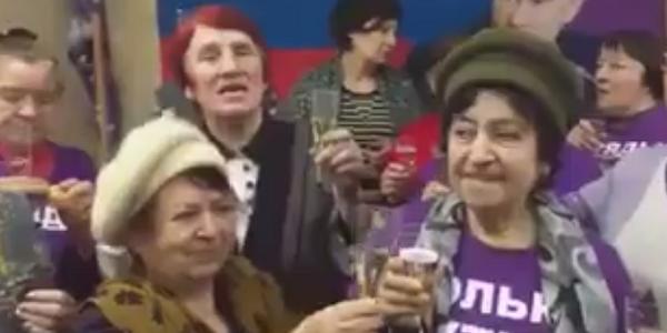 Фиолетовые бабушки: путь пенсионной армии от Малецкого и Шаповалова к Путину