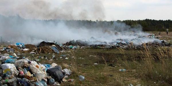 За 11 липня цього року зафіксовано три впадки загорання сміття у Полтавській області.