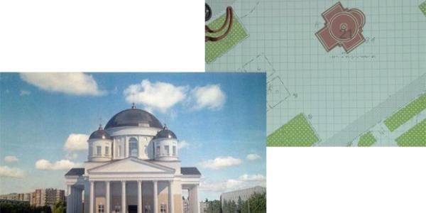Будівництво Свято-Успенського собору на головній площі Кременчука внесли до плану забудови міста