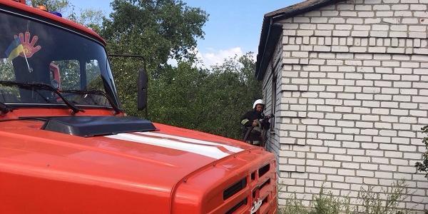 На місці працювали 4 рятувальники.