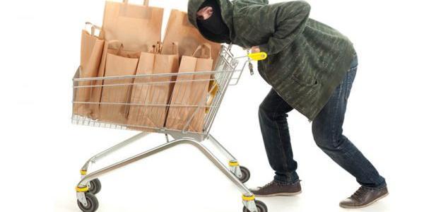 Кременчужанин не встиг далеко втекти із вкраденим у супермаркеті товаром