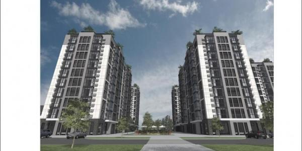 Яким буде новий квартал на бульварі Пушкіна: 10-ти поверхівки, замість хмарочосів
