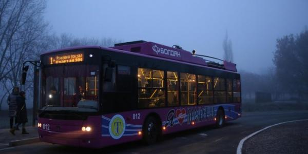 У Кременчуці затверджують 13 діючих тролейбусних маршрутів