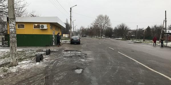 В Кременчуге – в микрорайоне Петровка тротуары «вымерли как вид»
