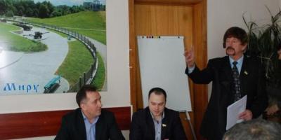 В Кременчуге «Батьківщина» пиарится на земле для бойцов АТО?
