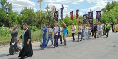 Власти Полтавщины просят жителей не поддаваться на провокации во время крестного хода