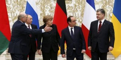 Режим прекращения огня на Донбассе начнется с 15 февраля