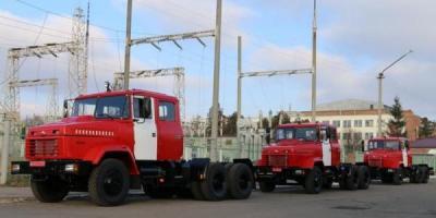 «АвтоКрАЗ» изготовил для спасателей автомобили-шасси