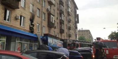 Дымят окна и балконы в Кременчуге
