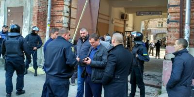 Кременчугская частная охранная фирма «засветилась» на скандале в Полтаве