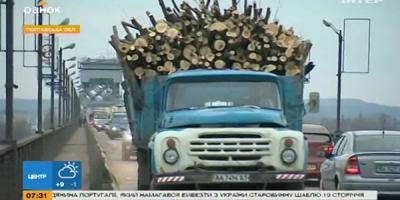 Крюковский мост в Кременчуге вошел в перечень «уставших»