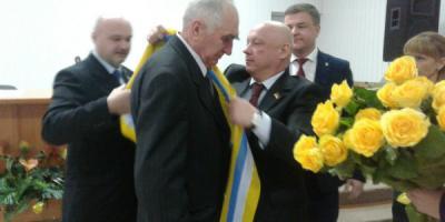 В Кременчугском районе появился новый Почетный гражданин