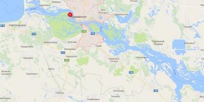 На Зеленом острове в Кременчуге выгорело 4 га растительности