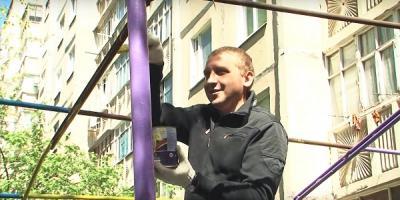 Кременчужане жалуются, что их раздражает фиолетовый цвет