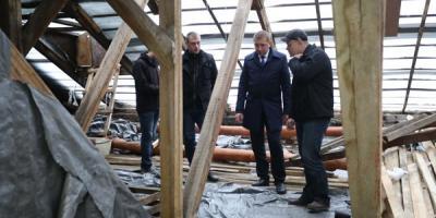 Кременчугские чиновники пролезут на крыши