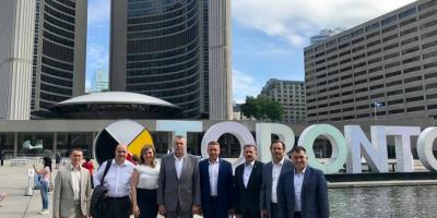 Мэр Кременчуга Малецкий объявился в Торонто
