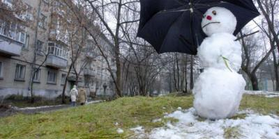 Настоящая зима в Украине начнется в феврале