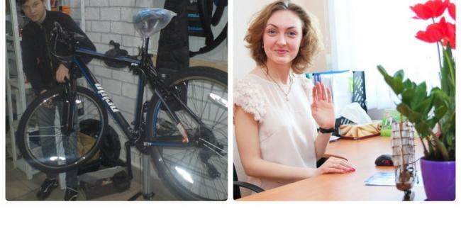 «Сэлфи: Я и моё рабочее место»: молоко и велосипед