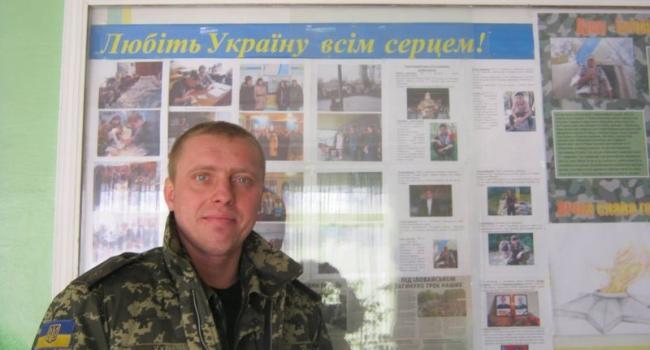 Киборг из Кременчуга рассказал, как стихи Шевченко помогали выстоять