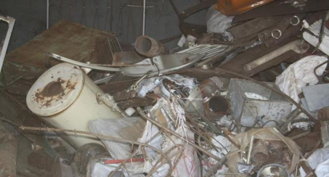 В Кременчуге остановлена деятельность незаконного металлоприемного пункта