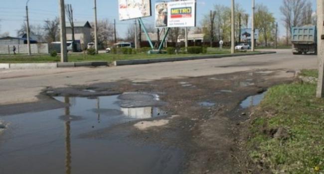 Ремонт дороги на Молодежном обещают начать с понедельника