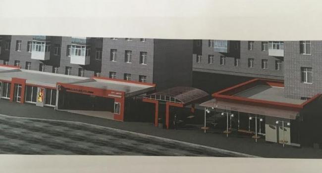 В мэрии Кременчуга показали макет остановки «Центр»