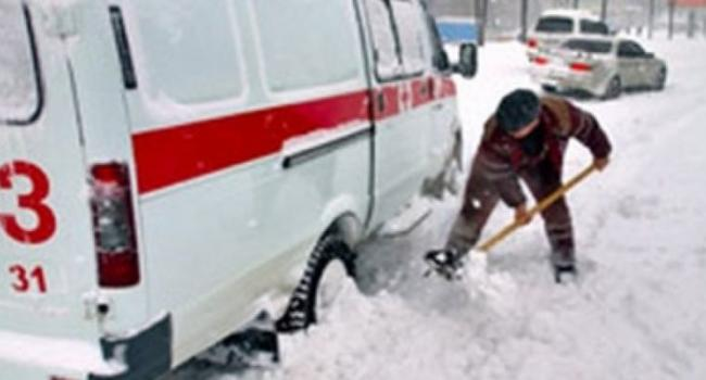 В Кременчуге спасатели спасли «скорую помощь»
