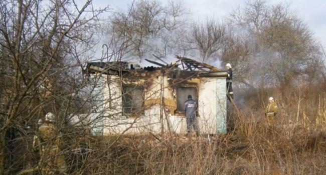 На Полтавщине при пожаре погиб десятилетний мальчик и его родители