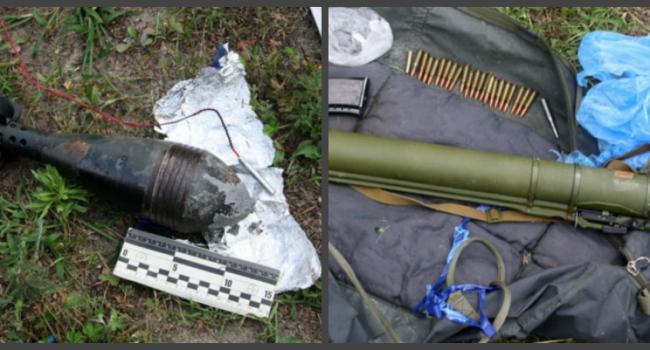 Полиция обнаружили тайник с оружием киллеров «Кирпича»