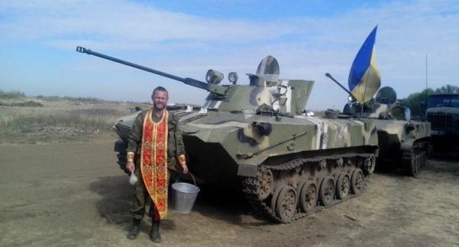 Еще один священник Кременчугской епархии поехал с пастерским служением в зону АТО
