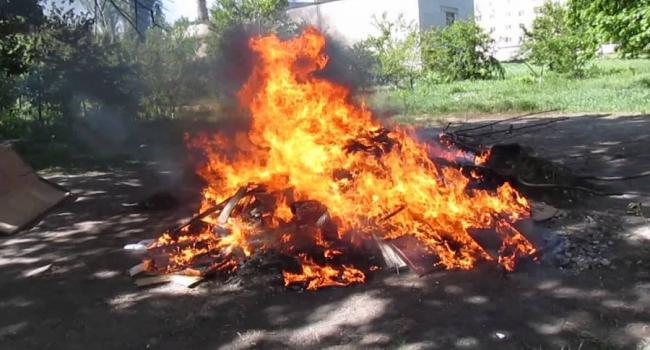 Хотела подзаработать, а «нажгла» мусор на 340 грн.