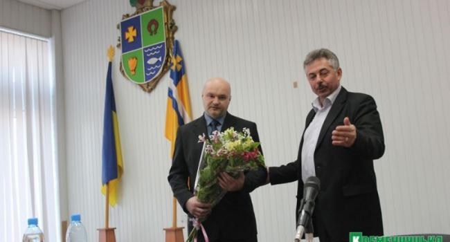 Кременчугский районный совет получил нового главу