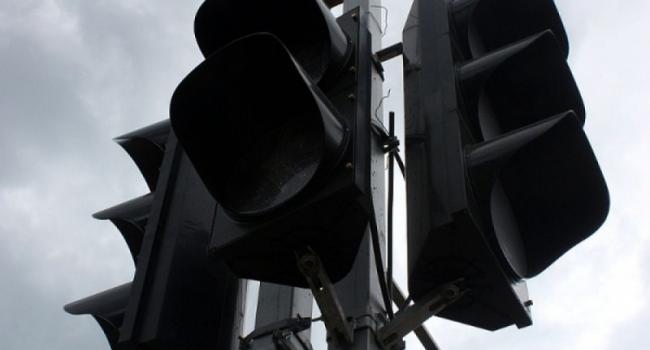 В районе водоканала не работает светофор