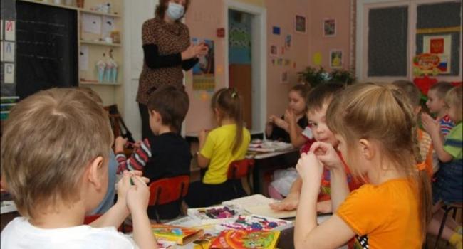 Явка детей в кременчугские детсады сегодня колеблется в пределах 35%