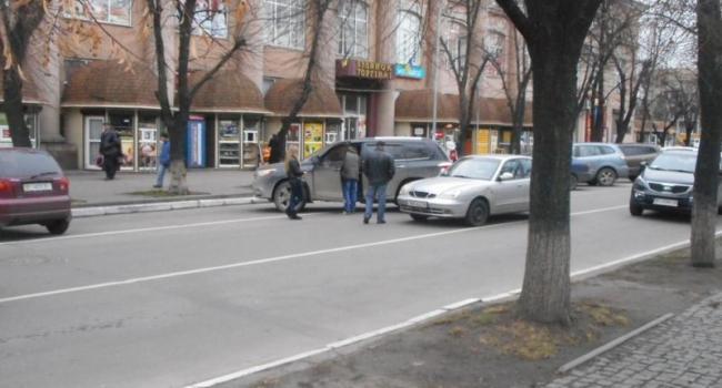 Движение по ул. Ленина затруднено