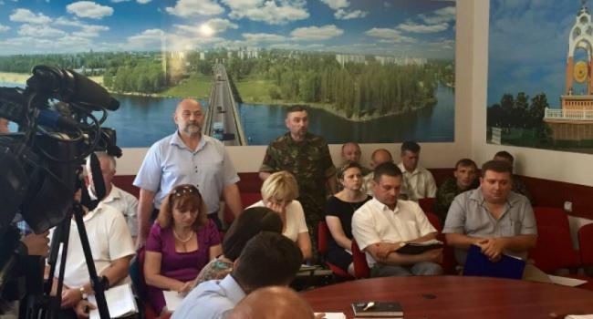 В Кременчуге участники АТО поспорили с департаментом соцзащиты