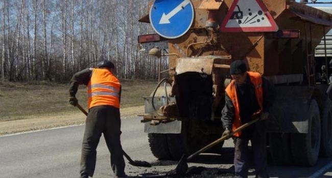 Апрель порадует кременчужан ремонтом дорог
