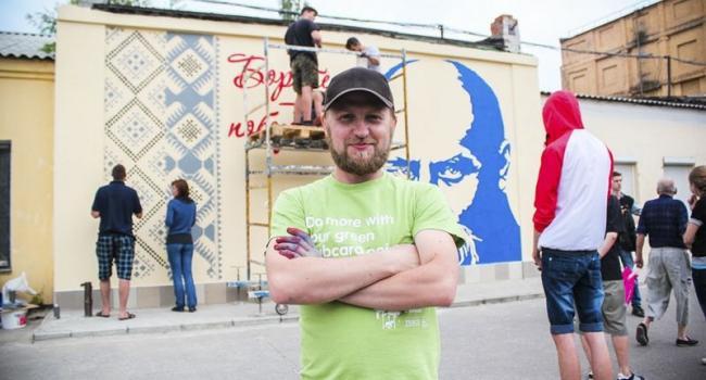 Завтра покажут обновленное граффити Кобзаря