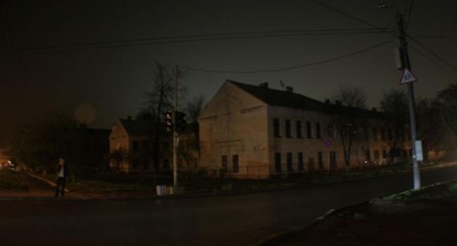 Улицы Кременчуга остаются без света