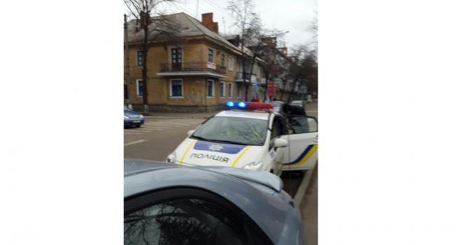 Патрульная полиция может остановиться на переходе и штрафовать нарушителя