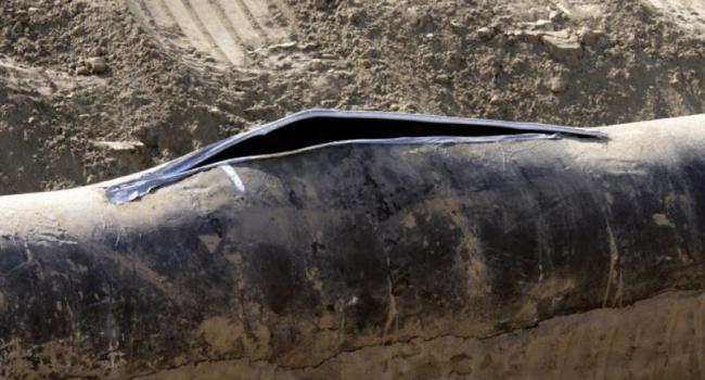 В Кременчуге произошел разрыв газовой трубы