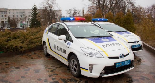 Новые патрульные Кременчуга уже разбили свою Toyota Prius