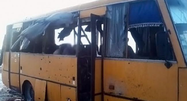 Действия при обстреле автобуса - видео