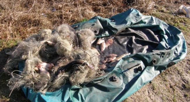 В Белецковских плавнях задержали браконьеров