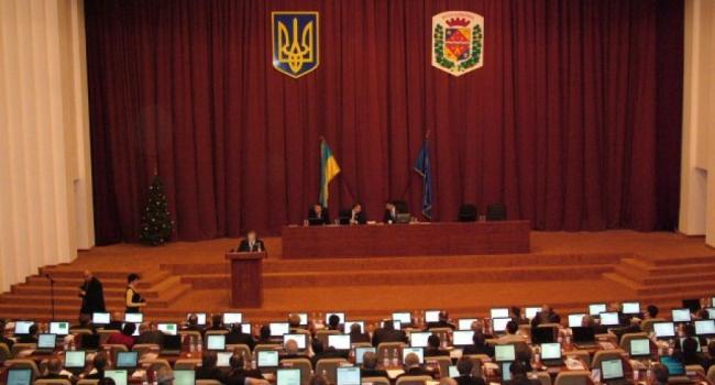 Заседание Полтавского облсовета снова перенесено